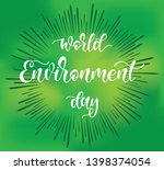 hand sketched world environment ...   Shutterstock .eps vector #1398374054