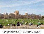 new york city  new york   usa...   Shutterstock . vector #1398424664