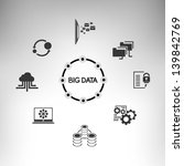 big data | Shutterstock .eps vector #139842769