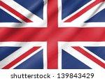Fabric Flag Of United Kingdom