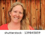 smiling natural woman with a...   Shutterstock . vector #139845859