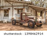 Old Rusty Truck And An Old...