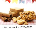 peanuts sweets candy | Shutterstock . vector #139846375