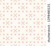 vector minimalist floral... | Shutterstock .eps vector #1398480131