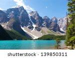 Stunning Moraine Lake At Banff...