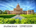 texas state capitol building in ... | Shutterstock . vector #139851034