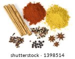 Various Colorful Spices From...