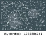 math chalkboard vector...