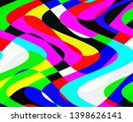 Colorful Vivid Waves Shapes ...