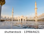 sheikh zayed grand mosque at... | Shutterstock . vector #139864621