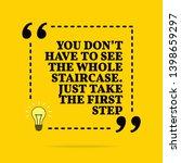 inspirational motivational... | Shutterstock . vector #1398659297