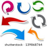 vector illustration of sticky... | Shutterstock .eps vector #139868764