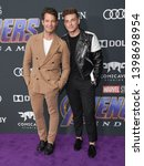 """Small photo of LOS ANGELES - APR 22: Nate Berkus and Jeremiah Brent arrives for the """"Avengers: End Game"""" LOs Angeles Premiere on April 22, 2019 in Los Angeles, CA"""