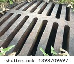 sewer grate cover manhole...   Shutterstock . vector #1398709697