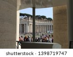 vatican  rome  italy   april 18 ...   Shutterstock . vector #1398719747