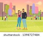 vector illustration of cartoon...   Shutterstock . vector #1398727484