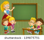 the school   education  ... | Shutterstock . vector #139875751