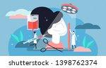 surgery vector illustration.... | Shutterstock .eps vector #1398762374