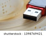 usb flash drive and obsolete... | Shutterstock . vector #1398769421