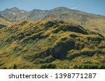 a landscape shot taken in mount ... | Shutterstock . vector #1398771287