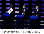 brussels  belgium. 15th may... | Shutterstock . vector #1398772517