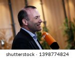 brussels  belgium. 15th may... | Shutterstock . vector #1398774824