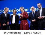 brussels  belgium. 15th may... | Shutterstock . vector #1398776504
