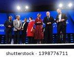 brussels  belgium. 15th may... | Shutterstock . vector #1398776711
