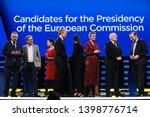 brussels  belgium. 15th may... | Shutterstock . vector #1398776714