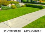 Pedestrian Sidewalk  Path At...