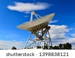 array of satellite dishes or...   Shutterstock . vector #1398838121