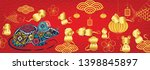 happy new year 2020. chinese... | Shutterstock .eps vector #1398845897
