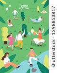 Nature Festival. Poster...