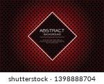 abstract vector luxury red... | Shutterstock .eps vector #1398888704