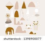 kids modern art shapes for... | Shutterstock .eps vector #1398900077