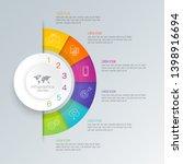 infographics design vector and...   Shutterstock .eps vector #1398916694