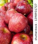 fresh apple in the market | Shutterstock . vector #1398931727