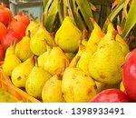 fresh pear fruits for health  | Shutterstock . vector #1398933491