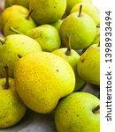 fresh pear fruits for health  | Shutterstock . vector #1398933494