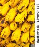 fresh banana for good health | Shutterstock . vector #1398934634
