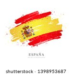 flag of spain. vector... | Shutterstock .eps vector #1398953687