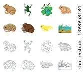 vector design of wildlife and... | Shutterstock .eps vector #1398958184