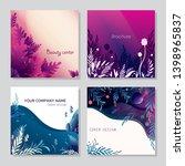 set of trendy backgrounds for... | Shutterstock .eps vector #1398965837