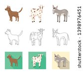 vector design of breeding and... | Shutterstock .eps vector #1398976451