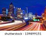 downtown atlanta  georgia  usa... | Shutterstock . vector #139899151