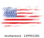 fade american flag on white... | Shutterstock . vector #139901281