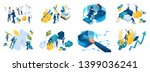 isometric set of concepts on... | Shutterstock .eps vector #1399036241