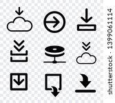 arrows collection vector ... | Shutterstock .eps vector #1399061114