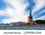 View Of Island Of Liberty With...