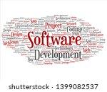 vector concept or conceptual... | Shutterstock .eps vector #1399082537